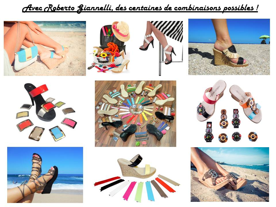 check-out 1e8a9 29cf4 Chaussures modulables - Roberto Giannelli France